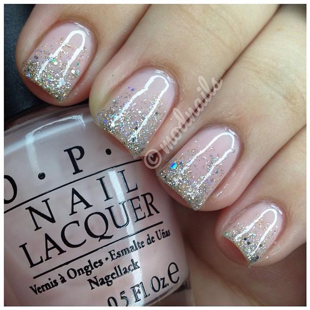 ModNails: Glitter Gradient Nails Tutorial