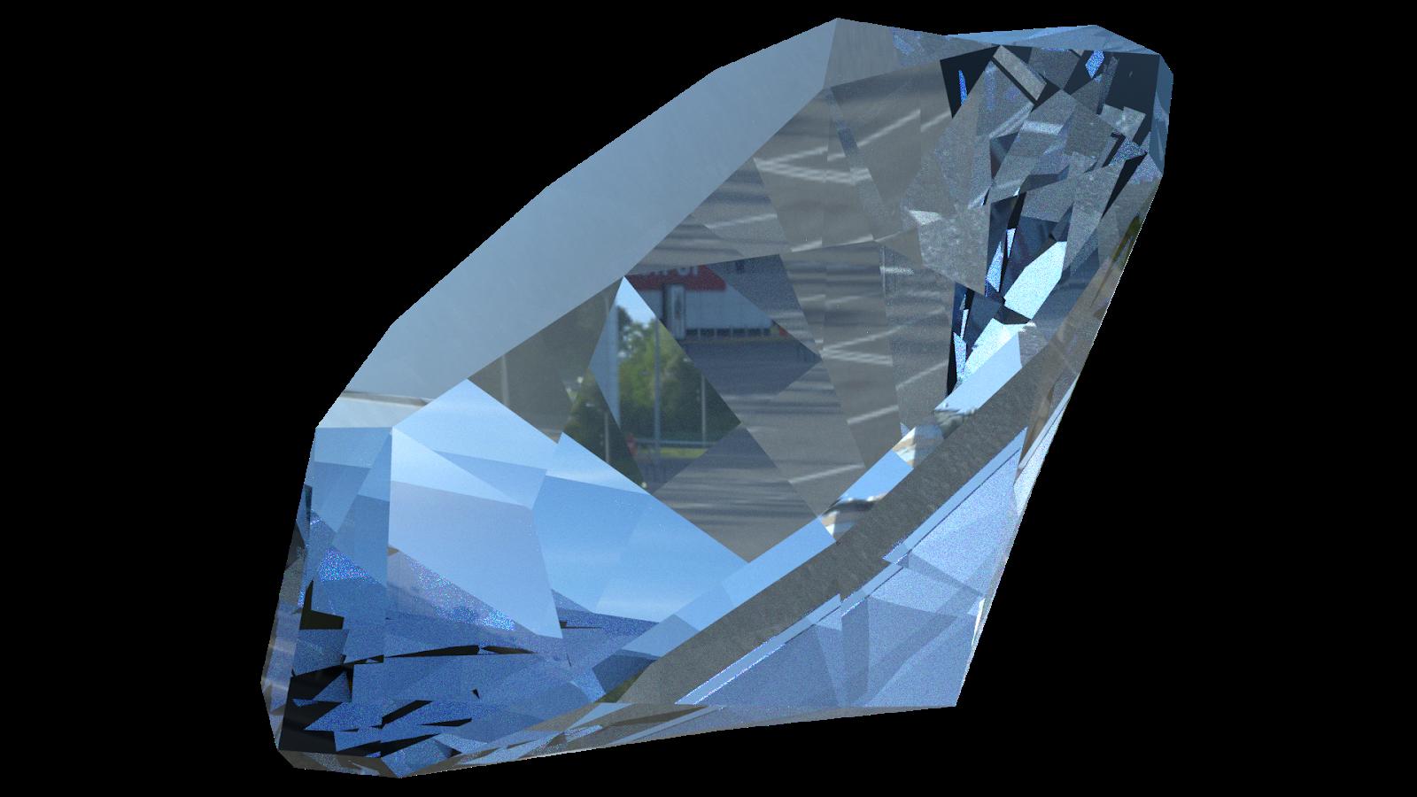 Free 3D Diamond CC0 3DS - Free 3D Models Under Public Domain