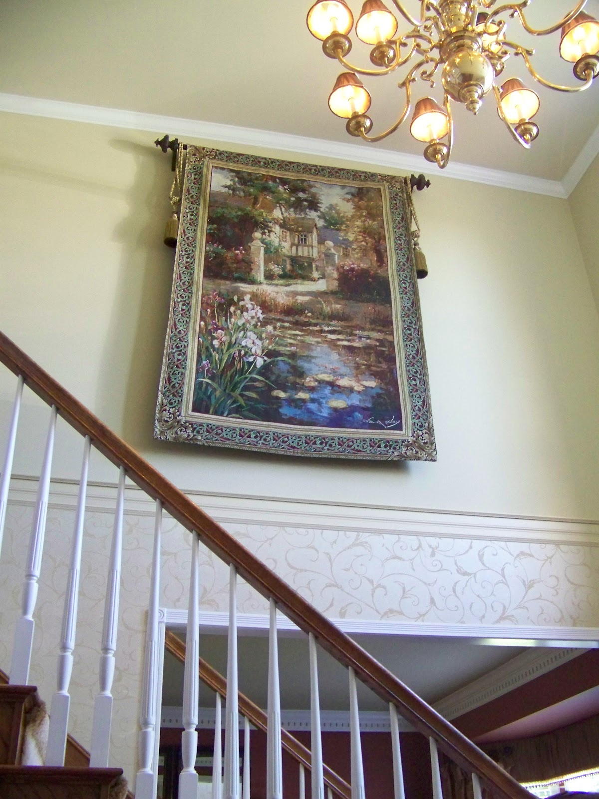 Creations From My Heart Two Story Foyer