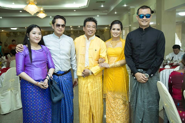 Myanmar Actress Su Pan Htwar and Okkar Kyaw Kind Deeds of Marriage