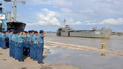 TNI AL Hibahkan KRI Teluk Ratai untuk Pemko Pariaman