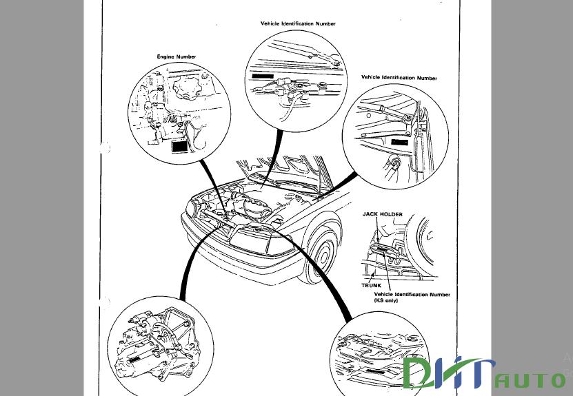 HONDA CIVIC COUPE CR-X 1988 SERVICE & REPAIR MANUAL