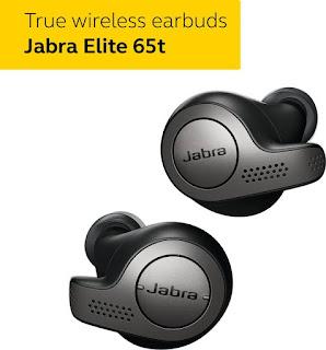 Jabra Elite 65t True Wireless Bluetooth Earphones