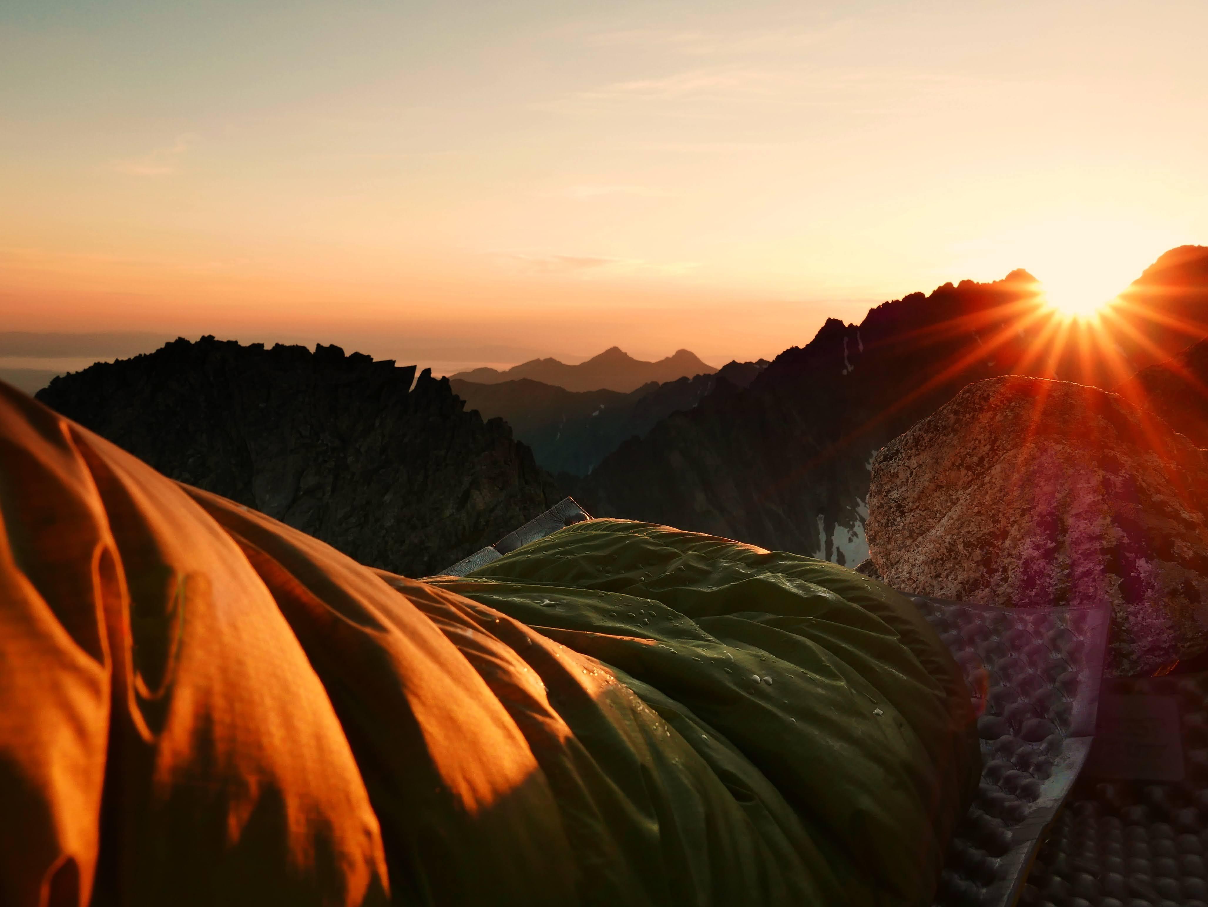 Tatry wchód słońca
