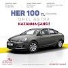 Park Bornova'dan Opel Astra Kazanma Şansı