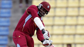 Gayle's explosive century emerged victorious from the bay