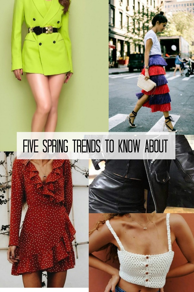 The Five Spring Trends I've Got My Eye On