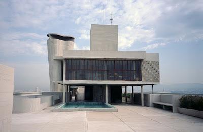 tetto piano-Le Corbusier-Marsiglia-Unitè d'Habitation-architettura moderna