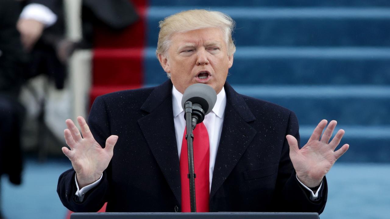 ترامب يدين الهجوم الكيماوي في سوريا ويؤكد انه ضد الانسانية