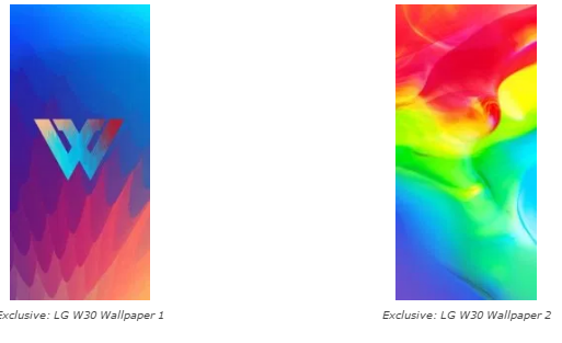 Download Wallpapers [FHD +]  LG W10 & W30  3