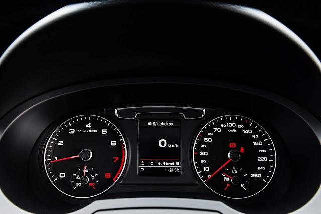 Audi Q3 Flex 2017 - cluster de instrumentos