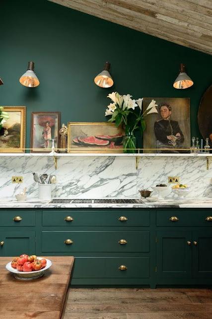 cozinha-elegante-verde