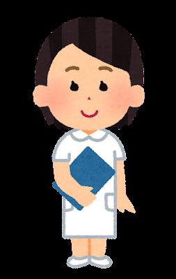 看護師の女の子のイラスト(将来の夢)