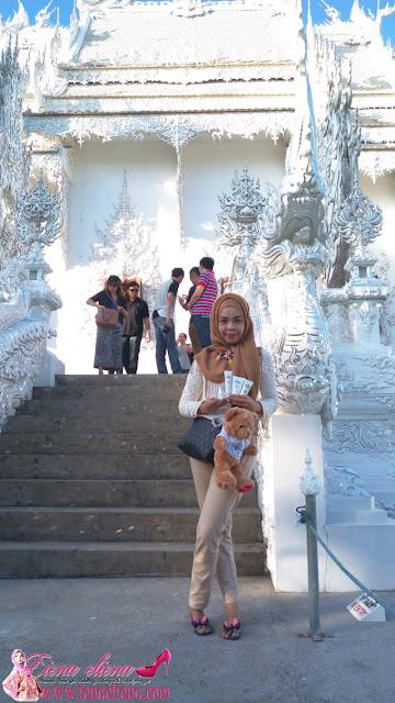 aQu - it's Me peneman setia cik iena sewaktu percutian di Chiang Mai & Chiang Rai Thailand