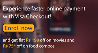 BookMyShow - Get 150 off on Booking Single Movie Tickets