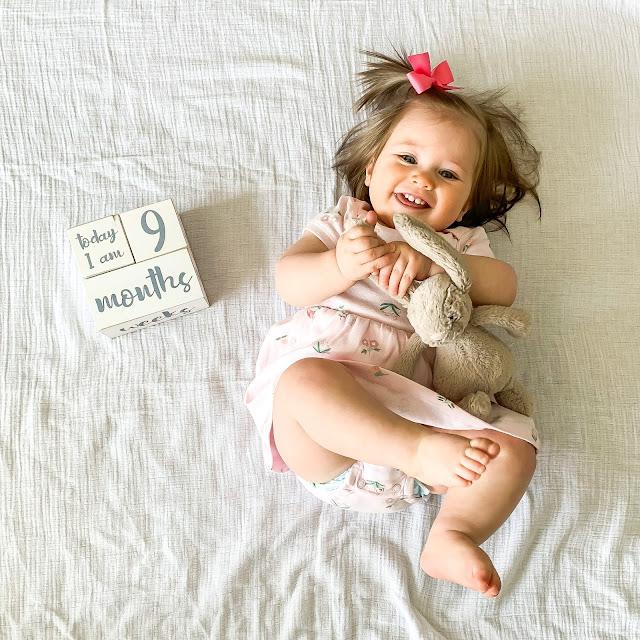 Anna 9 Month Baby Update