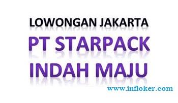 Lowongan Kerja Operator Produksi PT Starpack Indah Maju Pulogadung