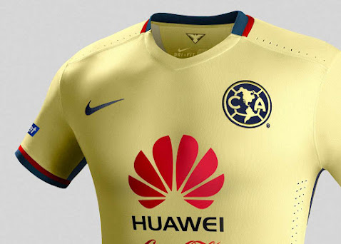 on sale 01b9a 95d2a Club América 2015-16 Home and Away Kits Released - Footy ...