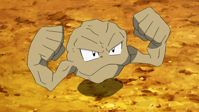 Geodude de Brock