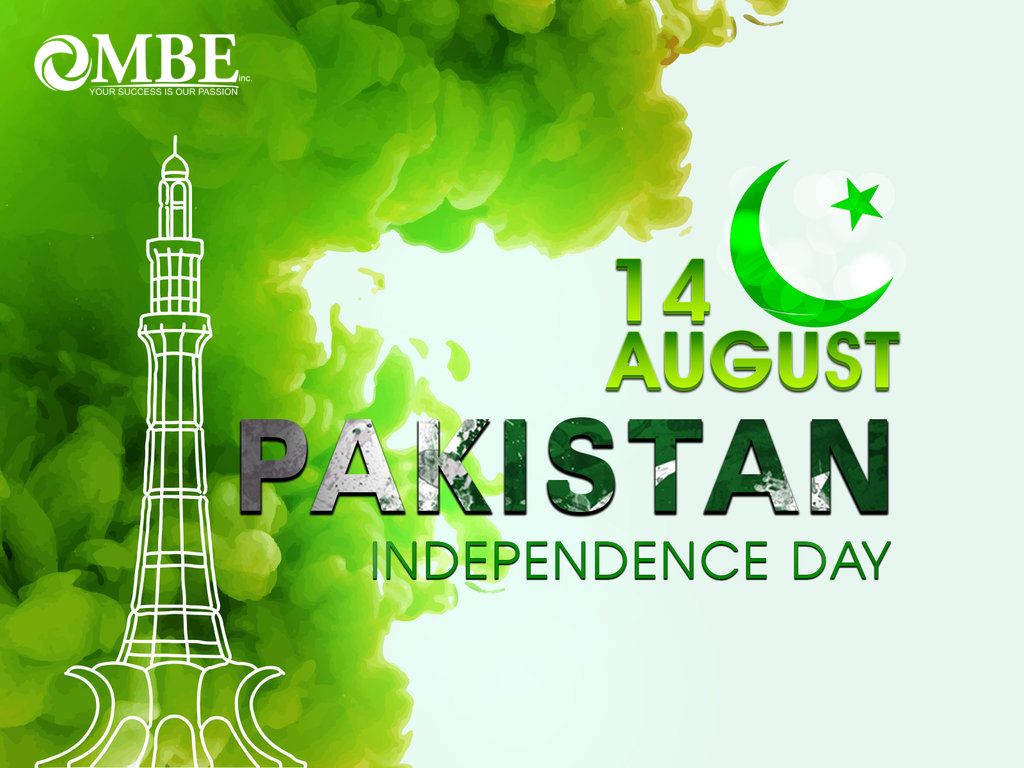 MBE Celebrating Independence Day Pakistan