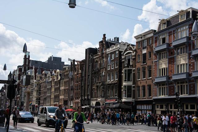 Straßen von Amsterdam