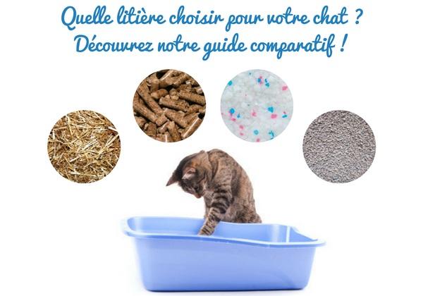 Découvrez notre guide comparatif des litières pour chat