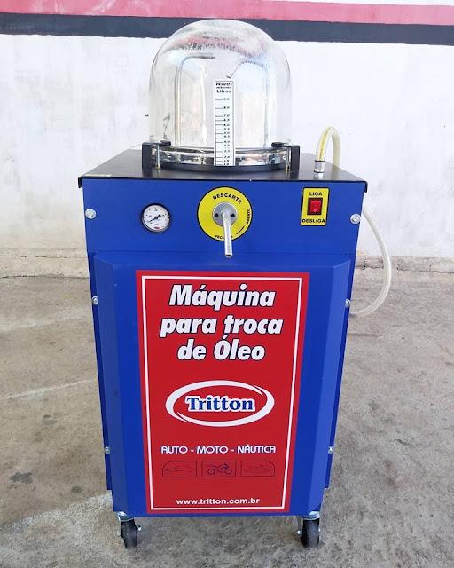 NOVIDADE: Troca de óleo a vácuo na Troca de Óleo do Ezinho em Umarizal