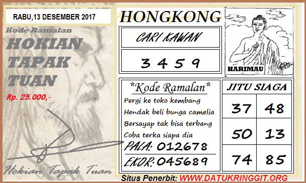 Prediksi Togel Hongkong Rabu