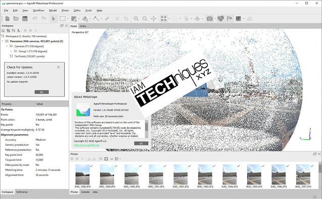 Agisoft Metashape Pro v1.6.4 x64