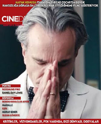Cinedergi 111. Sayı - Phantom Thread - Daniel Day-Lewis