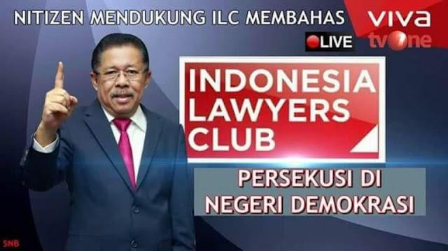 ILC Oh ILC, Mau Bahas Persekusi Malah Jadi Korban Persekusi