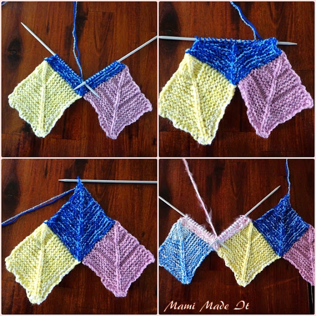 Wie strickt man eine Frau Schulz Decke - Anleitung mit Fotos. How to knit a Frau Schulz blanket - Tutorial with pictures.