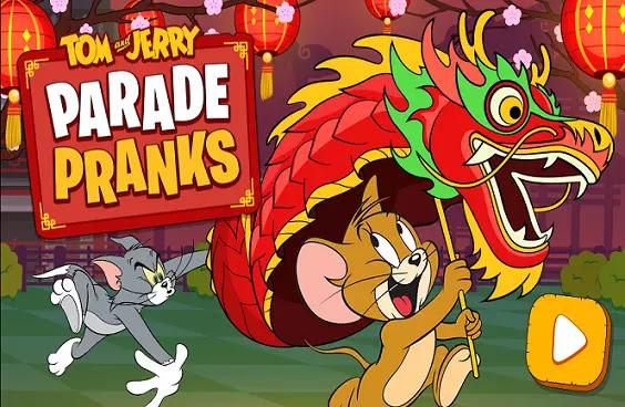 Game Tom and Jerry Parade Pranks ini merupakan permainan yang bertema ular naga barongsai