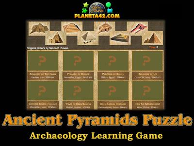 Древни пирамиди пъзел