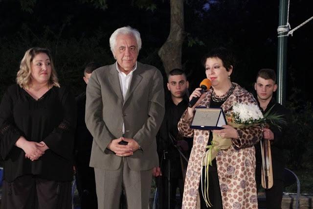 Τη διεθνούς φήμη σοπράνο Σόνια Θεοδωρίδου βράβευσε ο Δήμαρχος και ο Σύλλογος Ποντίων Κορυδαλλού