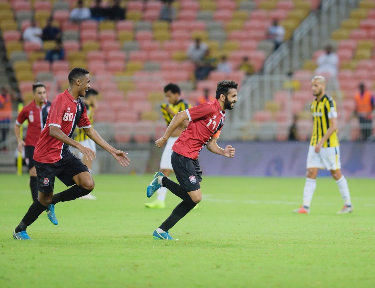 نتيجة مباراة الإتحاد والرائد اليوم الجمعة 23/08/2019 الدوري السعودي