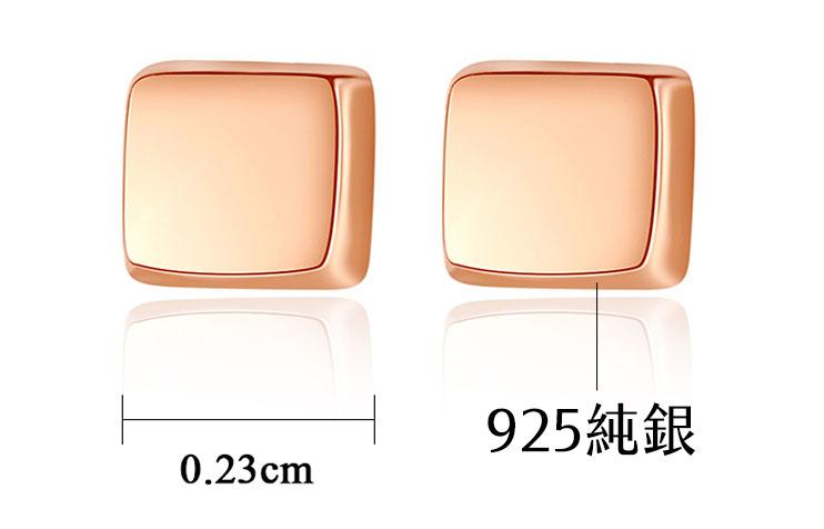 極簡個性風 925純銀耳環