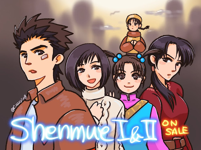 Shenmue I & II Released in Japan Today