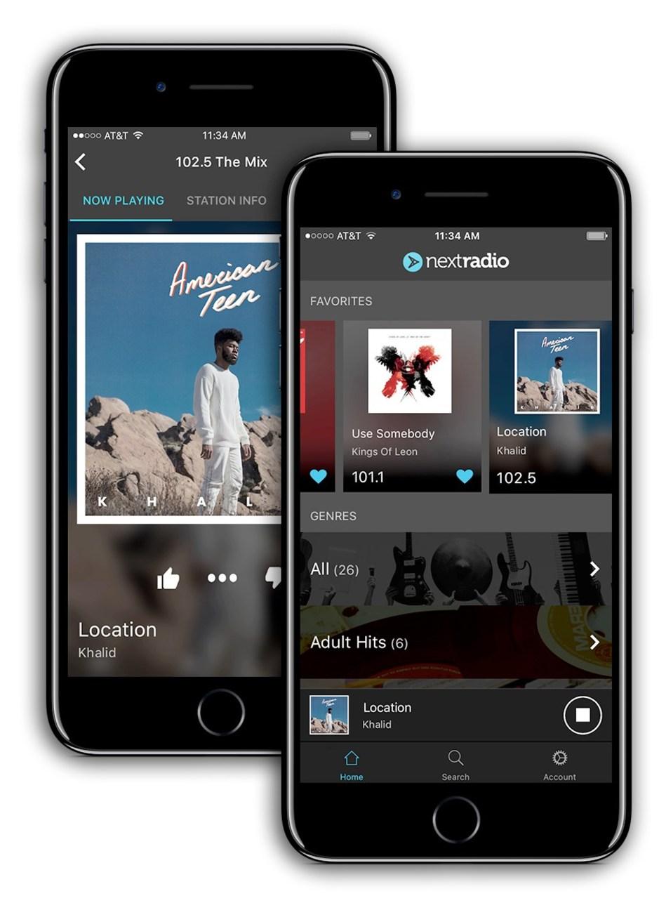 NextRadio Launches iOS FM Radio Streaming App - Urban Radio Nation