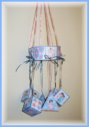 It's Raining Baby Showers Mobile Decoration Complete Set