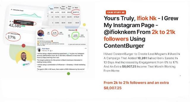 content burger review