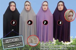 Jilbab Syar'i Oki Setiana Dewi model terbaru