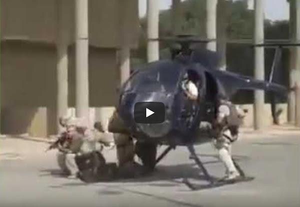 Η στιγμή που ο Αμερικανός Πρέσβης δραπετεύει δια αερομεταφοράς μ΄ελικόπτερο από την Πρεσβεία των ΗΠΑ στη Βαγδάτη