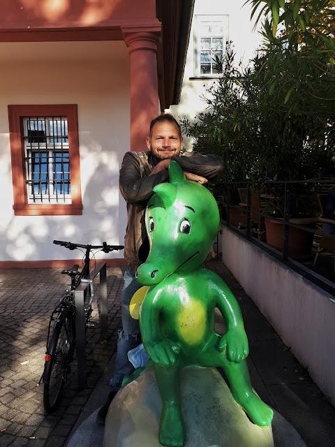 The Social Traveler & Tabaluga in Erfurt