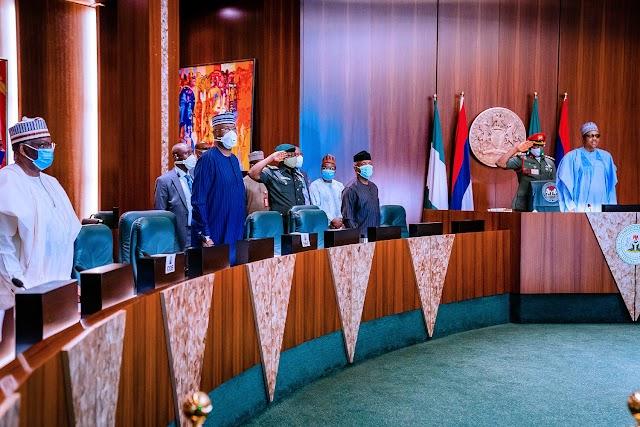 Buhari, ministers keep mum on Lekki killings at FEC meeting