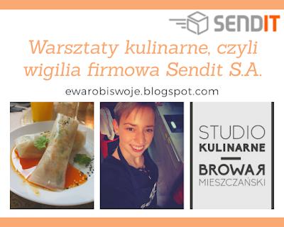 Warsztaty kulinarne, czyli wigilia firmowa w Sendit S.A.