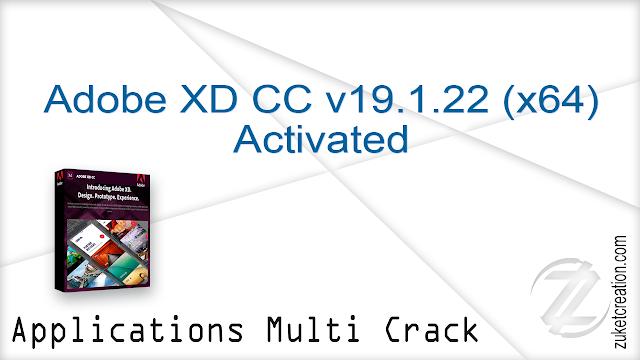 Adobe XD CC v19.1.22 (x64) Activated  |  657 MB