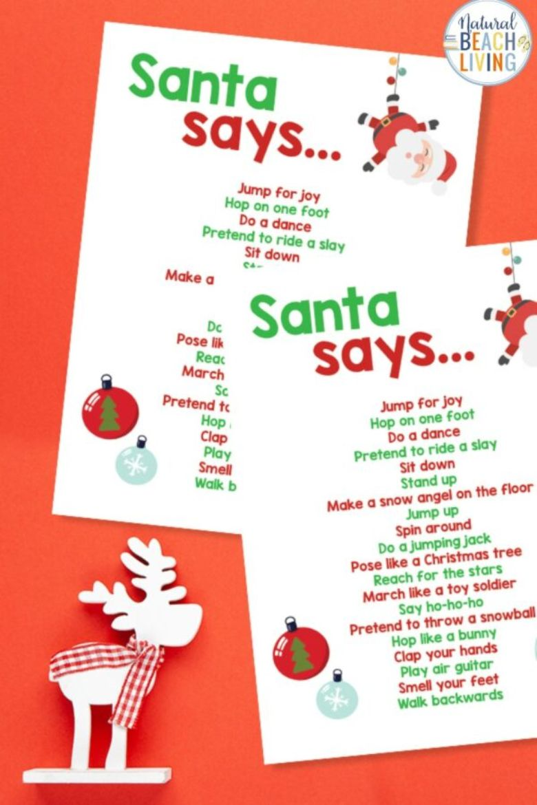 Christmas movement activities for kids