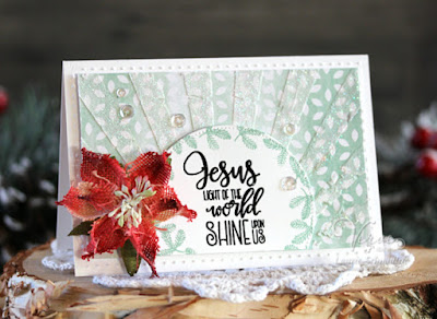 Handmade card by Laurie Schmidlin featuring Verve Stamps.