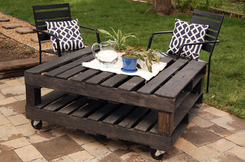 FABULOUS DIY OUTDOOR PALLET FURNITURE IDEAS AND TUTORIALS